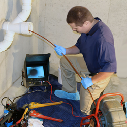 video plumbing inspection macomb